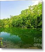 Emerald Pool Metal Print by Atiketta Sangasaeng