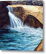 Emerald Pool Metal Print