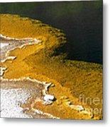 Emerald Pool Yellowstone National Park Metal Print
