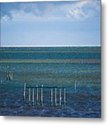 Emerald Seas Metal Print