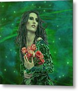 Emerald Universe Metal Print