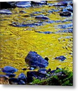 Emerald Water Metal Print