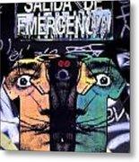 Emergency Dali Metal Print