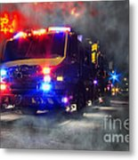 Emergency Metal Print