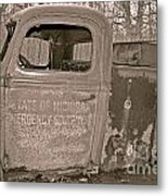 Emergency Truck Metal Print