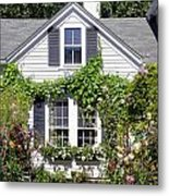 Emily Post House And Garden Metal Print
