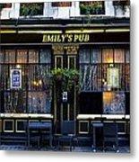 Emily's Pub Metal Print