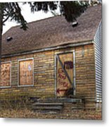 Eminem's Childhood Home Taken On November 11 2013 Metal Print