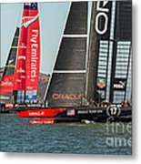 Emirates And Oracle Metal Print