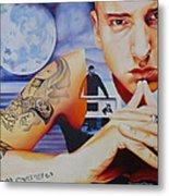 Eminem Metal Print