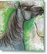 Emon Polish Arabian Horse 1 Metal Print