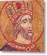 Emperor Constantine I Metal Print