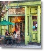 Hoboken Nj - Empire Coffee And Tea Metal Print