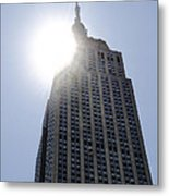 Empire State At Hign Noon Metal Print