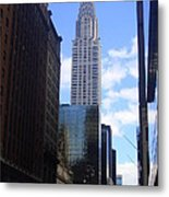 Empire State Metal Print by Brittany Perez
