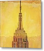 Empire State Building 4 Metal Print