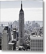 Empire State Metal Print by CD Kirven