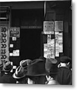 Employment Agency, 1937 Metal Print