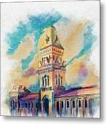 Empress Market Karachi Metal Print by Catf