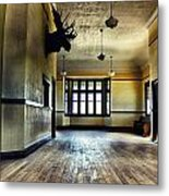 Empress Train Station Metal Print