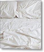 Empty Bed Metal Print