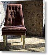 Empty Chair Metal Print