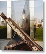 Empty Sky New Jersey September 11th Memorial Metal Print