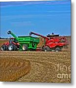 Empty The Combine Metal Print