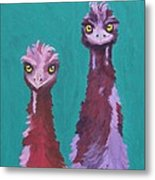 Emu Watch Metal Print