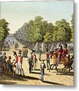 Encampment Of The British Army Metal Print