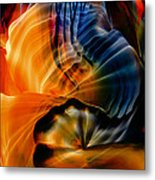 Encaustic 1381 Metal Print
