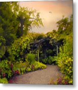 Enchanted Arbor Metal Print