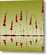 Enchanted Berries Metal Print
