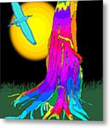 Enchanted Dream Tree Metal Print