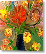 Enchanted Flowers. Metal Print by Pretchill Smith