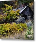 Enchanted Spaces Cabin In The Woods 2 Metal Print