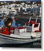 Enchanted Spaces Mykonos Greece 1 Metal Print
