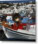 Enchanted Spaces Mykonos Greece 2 Metal Print