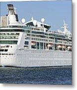 Enchantment Of The Seas Heading To Sea Metal Print
