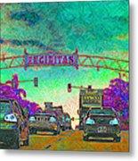 Encinitas California 5d24221p180 Metal Print by Wingsdomain Art and Photography