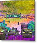 Encinitas California 5d24221p68 Metal Print by Wingsdomain Art and Photography
