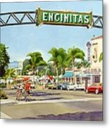 Encinitas California Metal Print by Mary Helmreich
