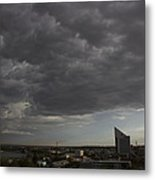 Encroaching Storm Metal Print