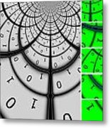 Encryption 3 Metal Print