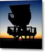 End Of A Lifeguards Day  Metal Print by Bruce Kessler