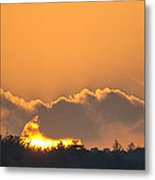 End Of A Perfect Day Metal Print
