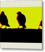 End Of Another Hectic Day Metal Print