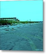 End Of The Day At Isle Of Palms Metal Print