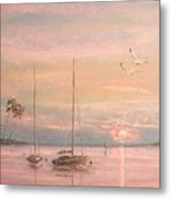 End Of The Day Metal Print