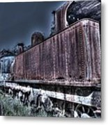 End Of The Line. Metal Print